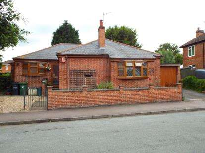 3 Bedrooms Bungalow for sale in Rosebery Road, Anstey, Leicester, Leicestershire