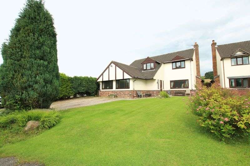 4 Bedrooms Detached House for sale in Pennine Way, Biddulph