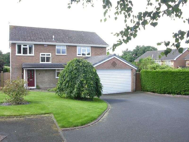 4 Bedrooms Detached House for sale in POYNTON (ALDERLEY CLOSE)