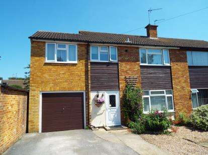 4 Bedrooms Semi Detached House for sale in Longfields, Bicester, Oxfordshire