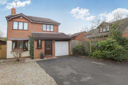 4 Bedrooms Detached House for sale in Pochard Close, Kidderminster, Worcestershire