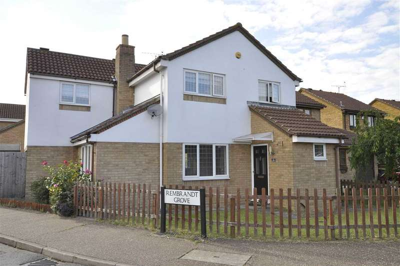4 Bedrooms Detached House for sale in Rembrandt Grove, Chelmsford