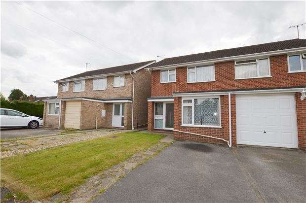 3 Bedrooms Semi Detached House for sale in Stanwick Drive, CHELTENHAM, Gloucestershire, GL51 9LG