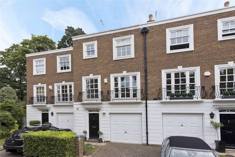 4 Bedrooms Mews House for sale in Grosvenor Place, Vale Road, Weybridge, Surrey, KT13