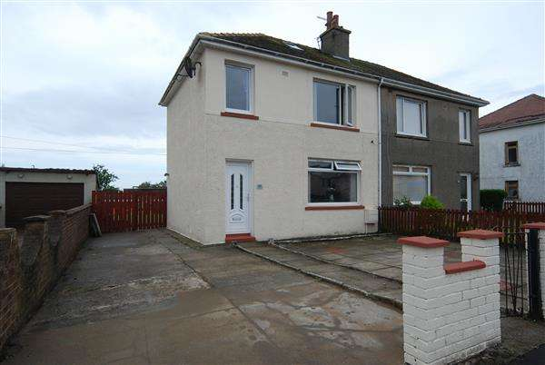 2 Bedrooms Semi Detached House for sale in Churchill Drive, Ardrossan