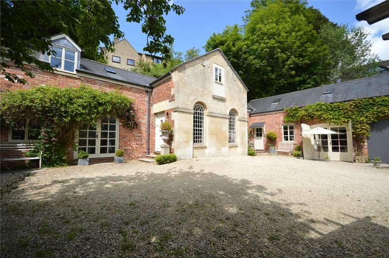 4 Bedrooms Detached House for sale in Lower Woodlands, Slad Road, Stroud, Gloucestershire, GL5