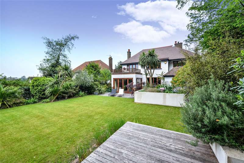 4 Bedrooms Detached House for sale in Hove Park Road, Hove, East Sussex, BN3