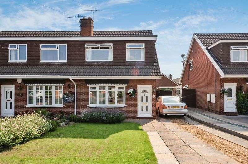 3 Bedrooms Semi Detached House for sale in 9 Cameron Avenue, Shavington, Crewe, CW2 5HR