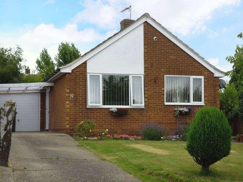 2 Bedrooms Detached Bungalow for sale in Larkin Avenue, Cherry Willingham