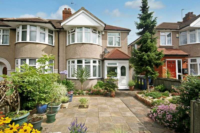 3 Bedrooms Terraced House for sale in Whitton Avenue West, Northolt