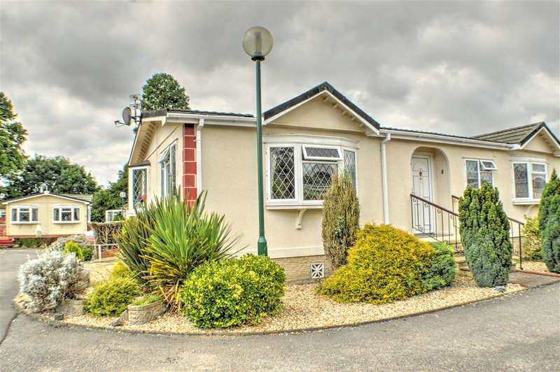 2 Bedrooms Park Home Mobile Home for sale in The Paddock, Westgate Park