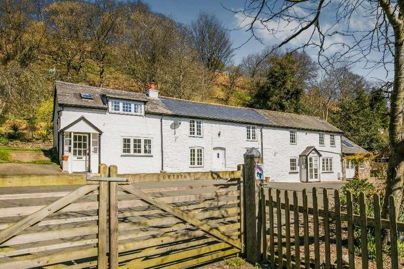 4 Bedrooms Detached House for sale in Gwynfa, Pen-Y-Garnedd,Llanrhaeadr Ym Mochnant, Oswestry, SY10