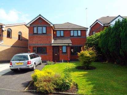 4 Bedrooms Detached House for sale in Wildcherry Gardens, St. Helens, Merseyside, WA9