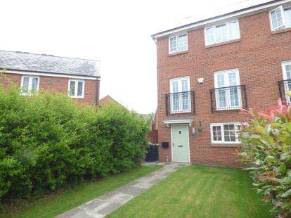 4 Bedrooms Semi Detached House for sale in Monks Place, Warrington, Cheshire, WA2