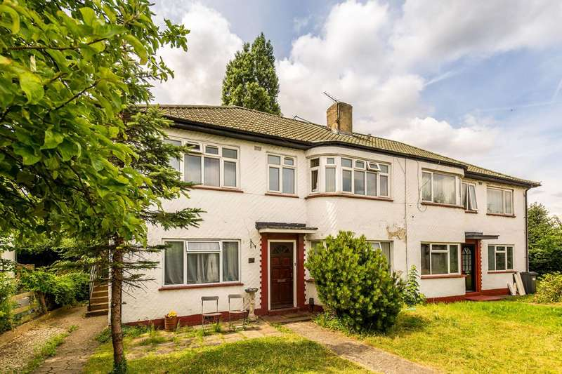 2 Bedrooms Maisonette Flat for sale in Northumberland Gardens, Isleworth, TW7