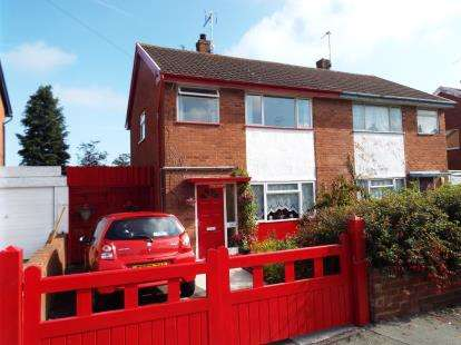 3 Bedrooms Semi Detached House for sale in Nant Eos, Holywell, Flintshire, CH8