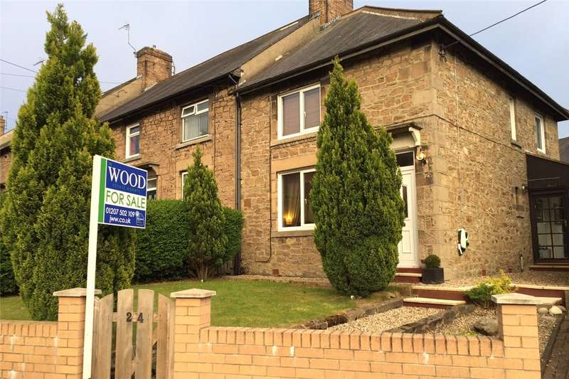 2 Bedrooms Semi Detached House for sale in St Andrews Road, Blackhill, Consett, DH8
