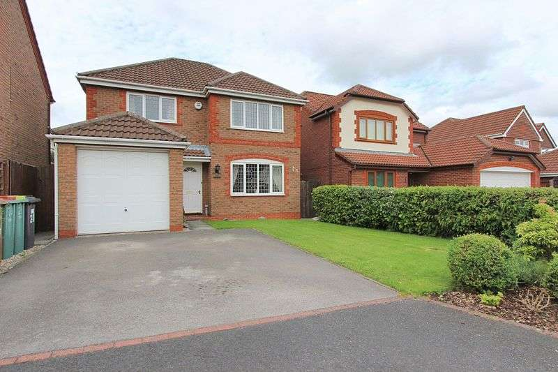 4 Bedrooms Detached House for sale in Valentines Meadow, Cottam, Preston