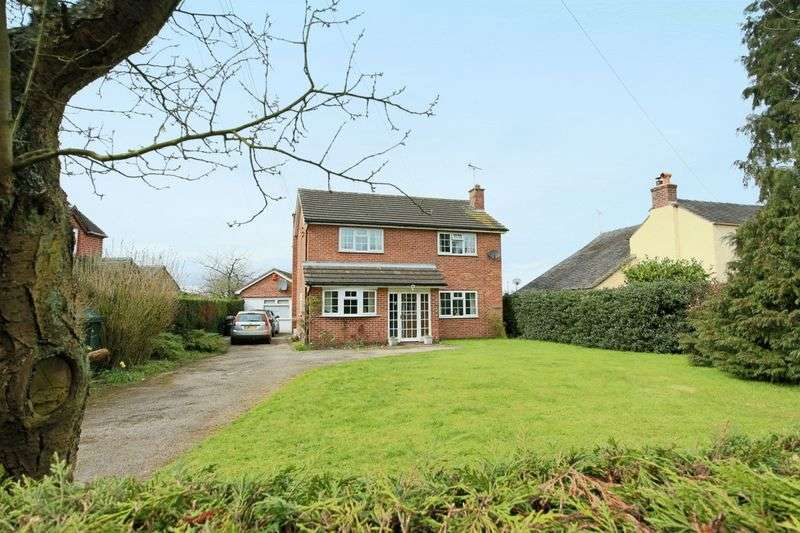 4 Bedrooms Detached House for sale in Sound, CW5 8BD Nantwich
