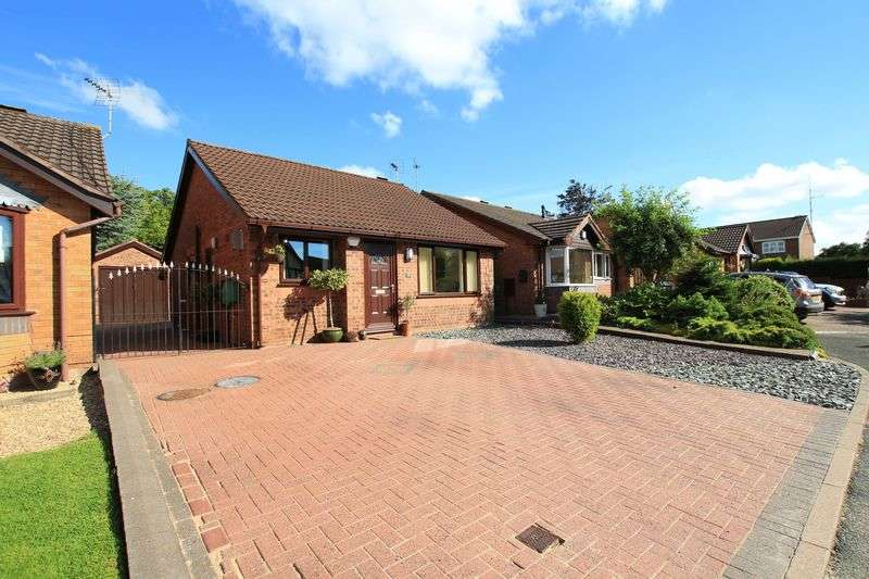 2 Bedrooms Detached Bungalow for sale in Goldcrest Way, Biddulph