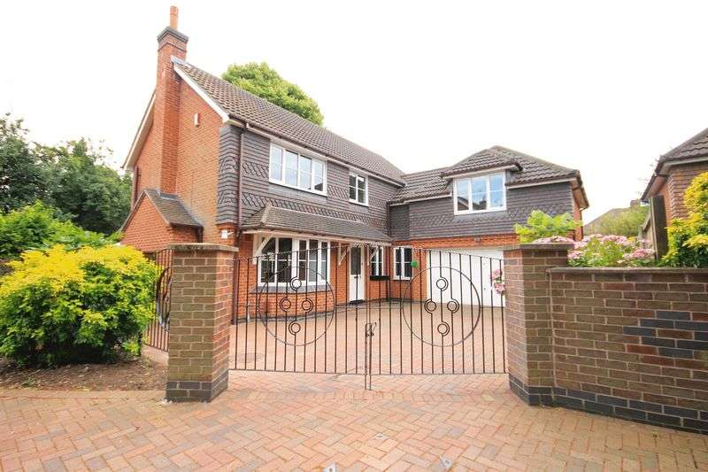 4 Bedrooms Detached House for sale in COURTLAND GARDENS, ALVASTON