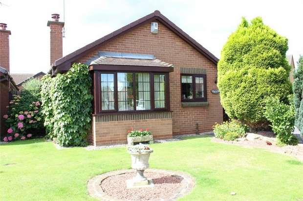 2 Bedrooms Detached Bungalow for sale in Ryedale Place, Normanton, West Yorkshire