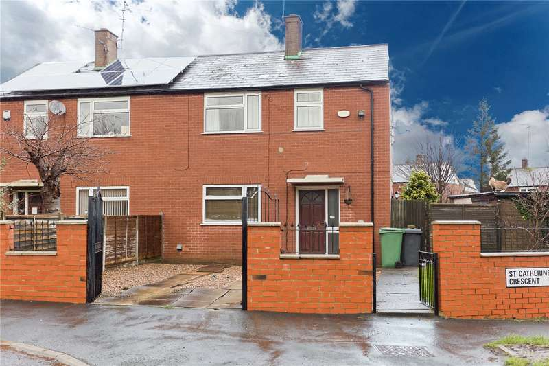 2 Bedrooms Semi Detached House for sale in St Catherines Crescent, Leeds, West Yorkshire, LS13