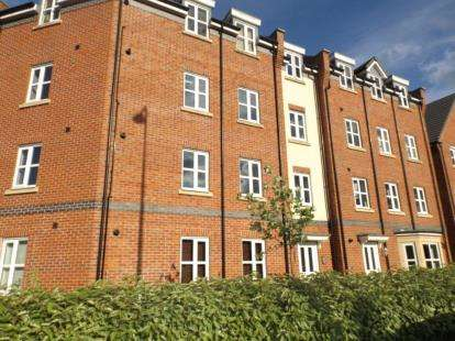 2 Bedrooms Flat for sale in Kiveton Walk, Battersby Lane, Warrington, Cheshire, WA2