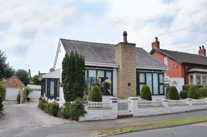 3 Bedrooms Detached Bungalow for sale in 156 Hardhorn Road, Poulton-Le-Fylde Lancs FY6 8ES