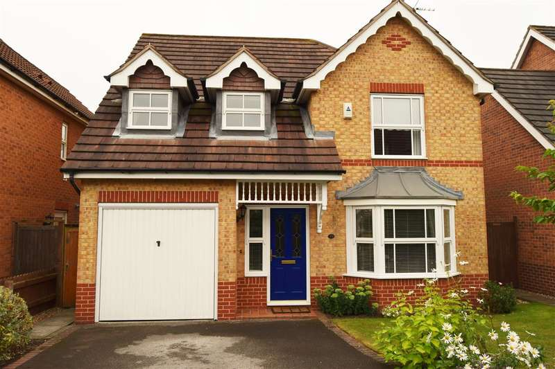 4 Bedrooms Detached House for sale in Naseby Avenue, Newark
