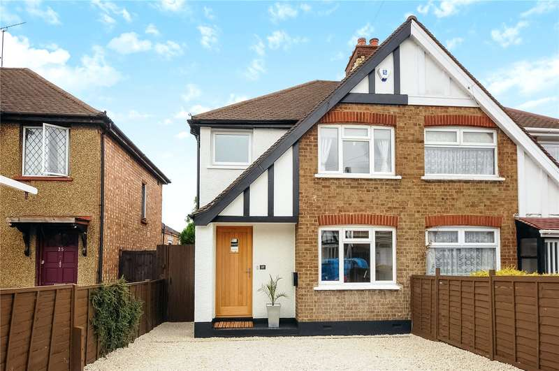 3 Bedrooms Semi Detached House for sale in Clifton Gardens, Uxbridge, Middlesex, UB10