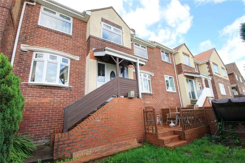 3 Bedrooms Terraced House for sale in Hillside Gardens, Stanley, Durham, DH9