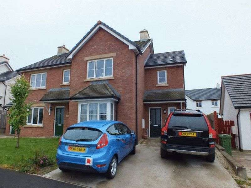 3 Bedrooms Semi Detached House for sale in 11 Raad Bridjeen, Reayrt Ny Cronk, Peel