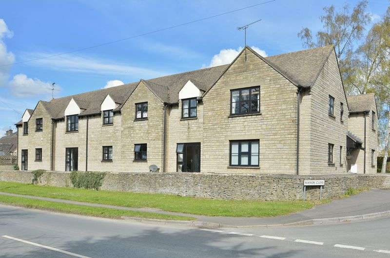 2 Bedrooms Flat for sale in Manor Court, Fairford, Gloucestershire.