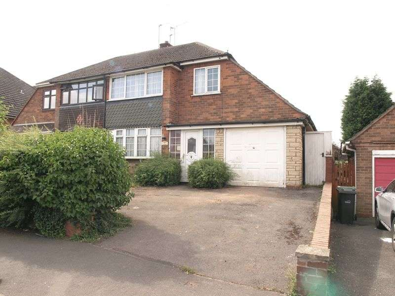 3 Bedrooms Semi Detached House for sale in Langland Drive, Northway, Sedgley