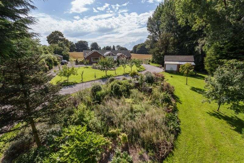3 Bedrooms Detached House for sale in Park lodge, Audlem Road, Hankelow, Nr Nantwich