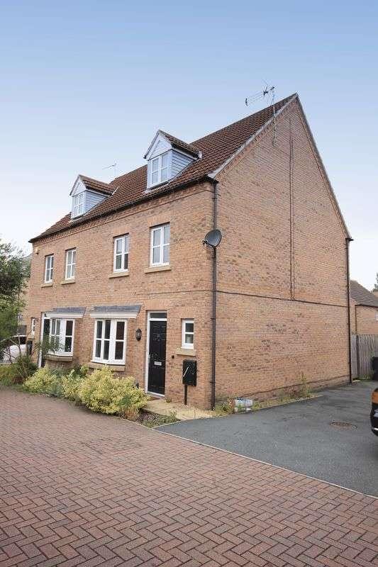 4 Bedrooms Terraced House for sale in CORDELIA WAY, CHELLASTON