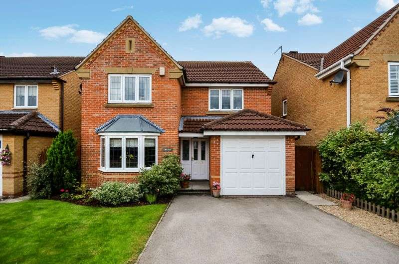 4 Bedrooms Detached House for sale in Rundle Court, Pocklington, York, YO42