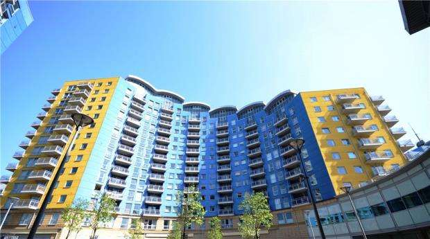 2 Bedrooms Apartment Flat for sale in Crown Heights, Alencon Link, Basingstoke