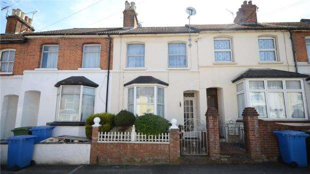 3 Bedrooms Terraced House for sale in Elms Road, Aldershot, Hampshire