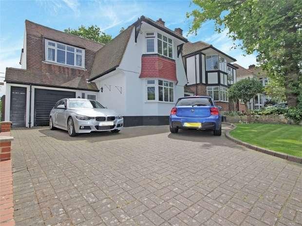 4 Bedrooms Detached House for sale in Copse Avenue, WEST WICKHAM, Kent