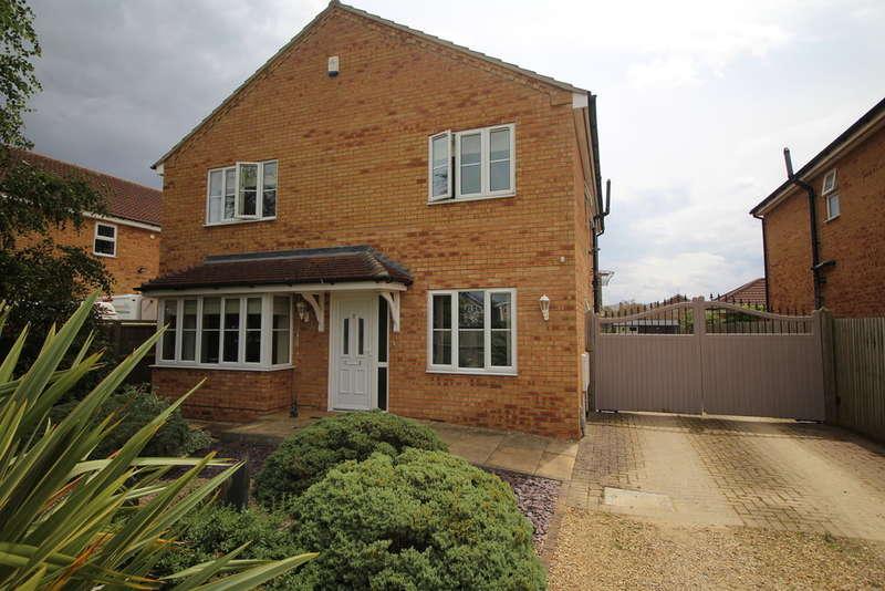 4 Bedrooms Detached House for sale in St Vincents Close, Deeping St James, Peterborough, PE6 8QP
