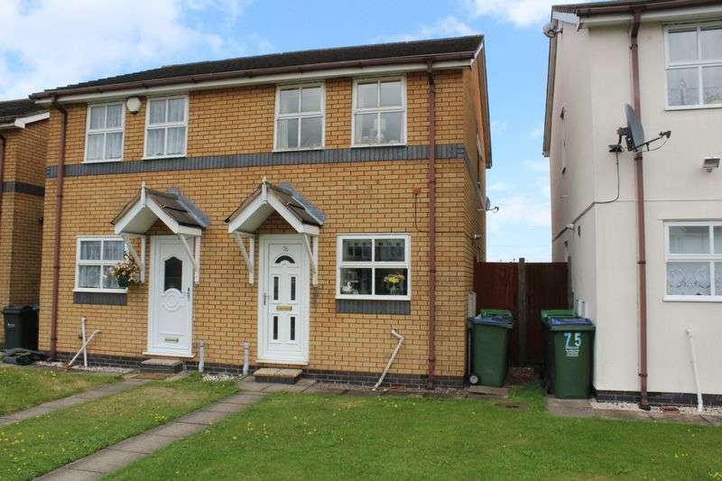 2 Bedrooms Semi Detached House for sale in Waterways Drive, Oldbury