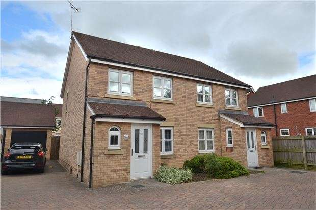 3 Bedrooms Semi Detached House for sale in Holbeach Drive Kingsway, Quedgeley, GLOUCESTER, GL2 2BF