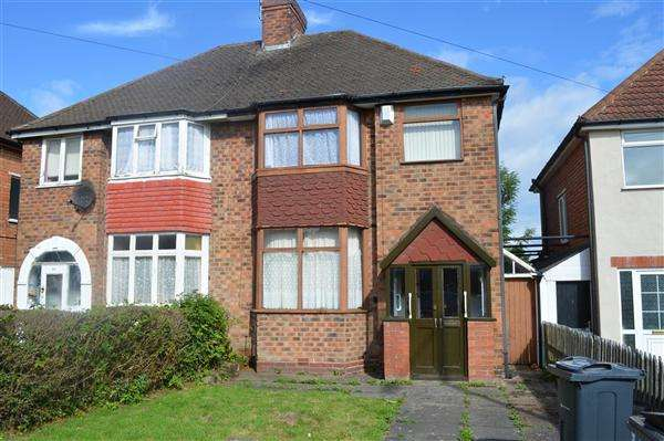 3 Bedrooms Semi Detached House for sale in Manor House Lane, Yardley, Birmingham