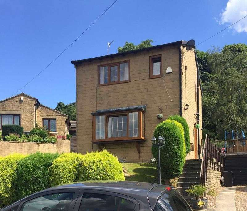 3 Bedrooms Detached House for sale in Roselee Close, Siddal, Halifax