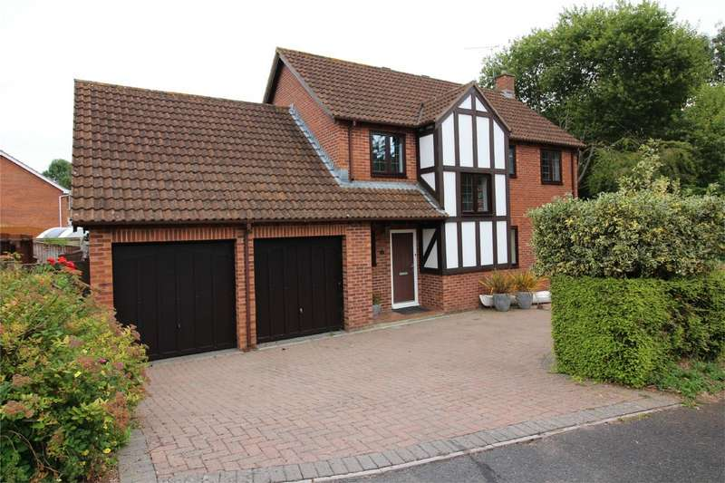 4 Bedrooms Detached House for sale in COMEYTROWE, Taunton