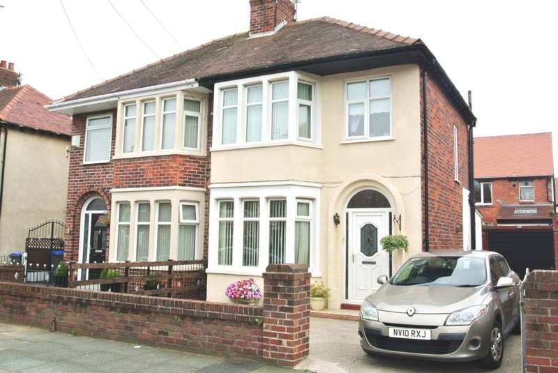 3 Bedrooms Semi Detached House for sale in Cheddar Avenue, Blackpool, FY4 2LG