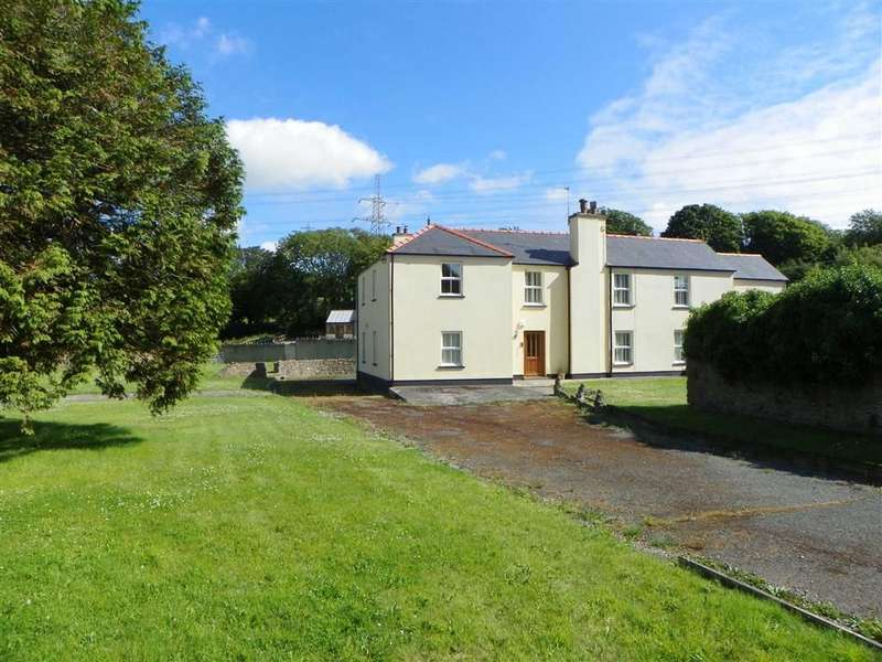 4 Bedrooms Property for sale in West Grove Lane, Hundleton, Pembroke
