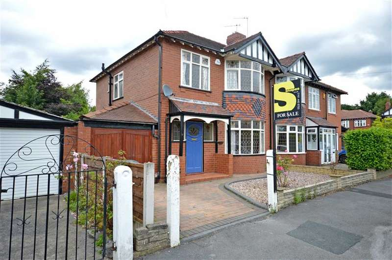 3 Bedrooms Property for sale in WOODEND ROAD, Davenport, Stockport, Cheshire, SK3